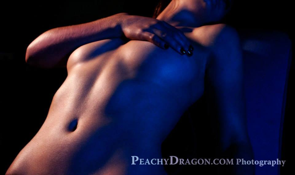 implied nude bodyscape figure photograph