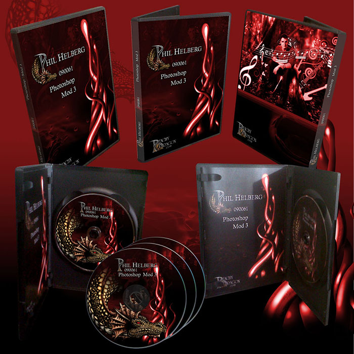 Corporate identity Design CD and DVD case