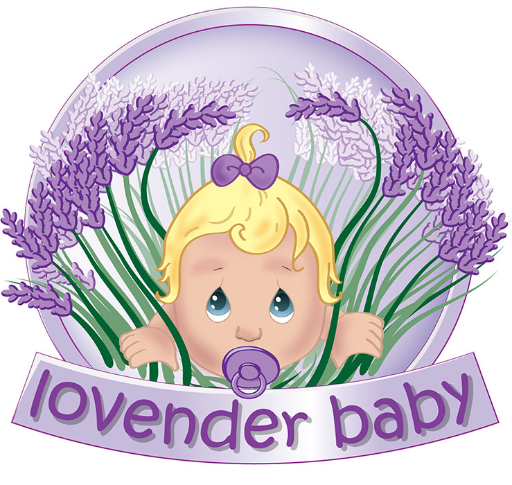 Corporate identity Logo Design Lovender baby