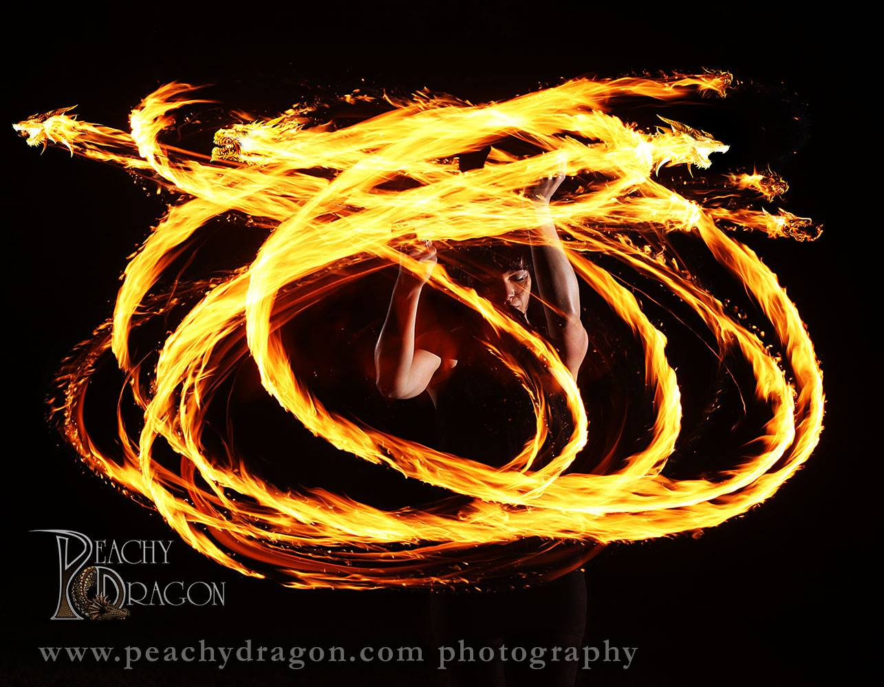 Firedancer photo shot on location