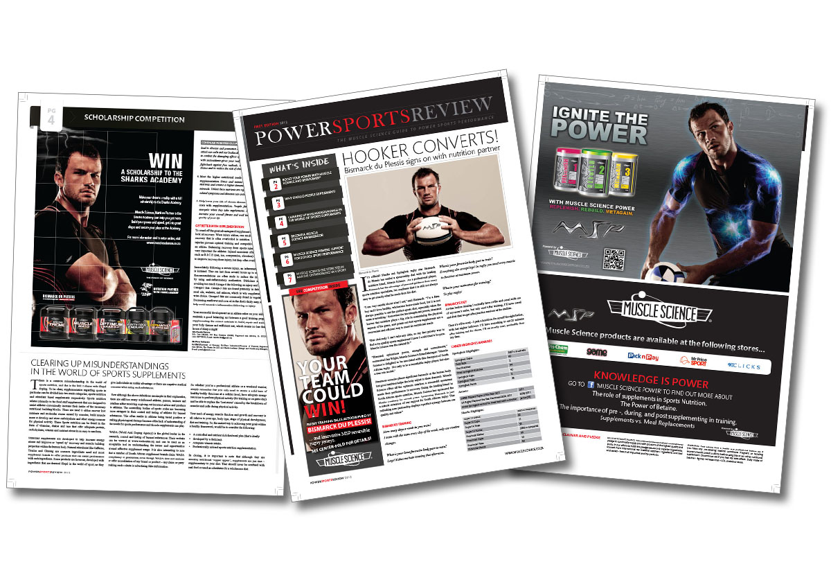 Rugby Sports Newspaper design
