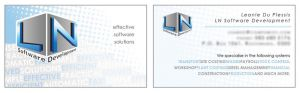 Corporate identity Design Business card design