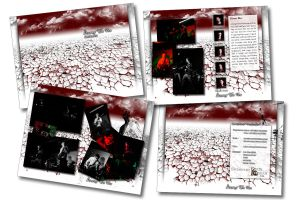DVD sleeve and booklet design