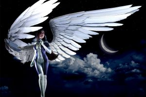 Fantasy Angel from the Xmen Gender-bend photograph